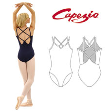 Capezio Lattice Back Leotard CC121