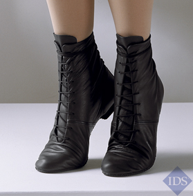 Leather jazz boot