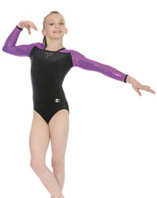 Z914 Deluxe Roch Valley Leotard - Nvy/Pink 26""
