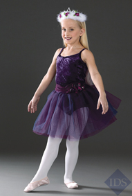 Wine Flower Girl Tutu